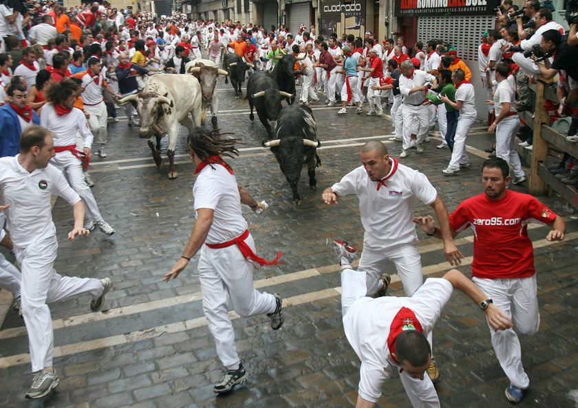 Running Of The Bulls Uniform Las Aventuras d...
