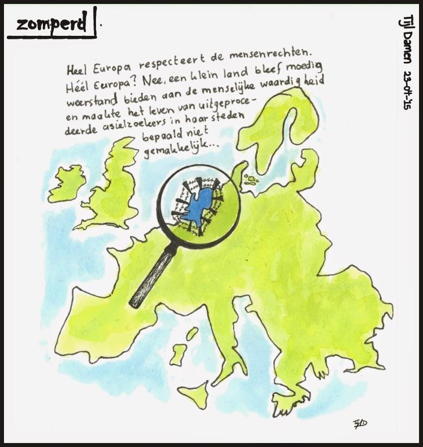 Zomperd - Mensenrechten