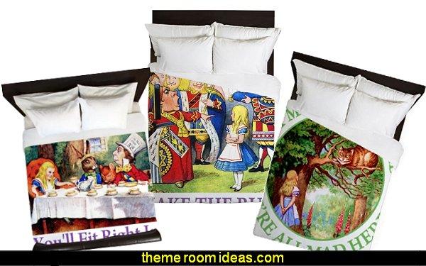 ALICE IN WONDERLAND BEDDING alice in wonderland duvet covers alice in wonderland pillows