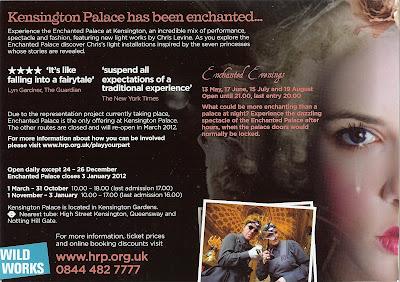Enchanted Palace Flyer