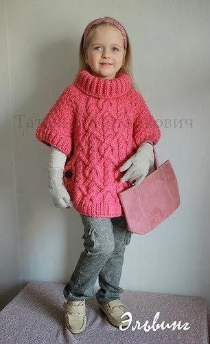 Пуловер Жаккардом