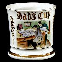 1950's Porcelain Shaving Mug
