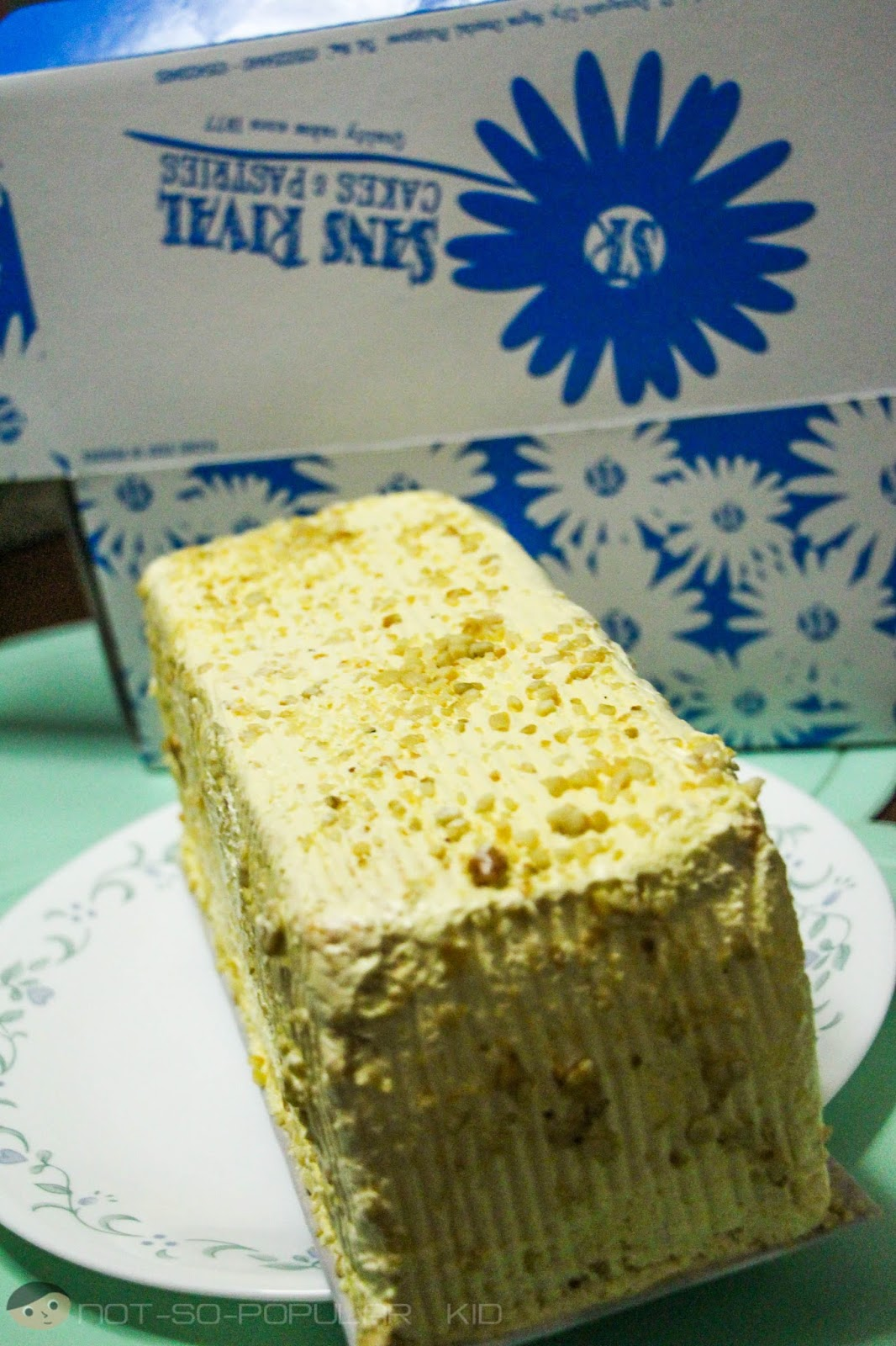 SANS RIVAL Cakes & Pastries of Dumaguete | A Not-So-Popular Kid