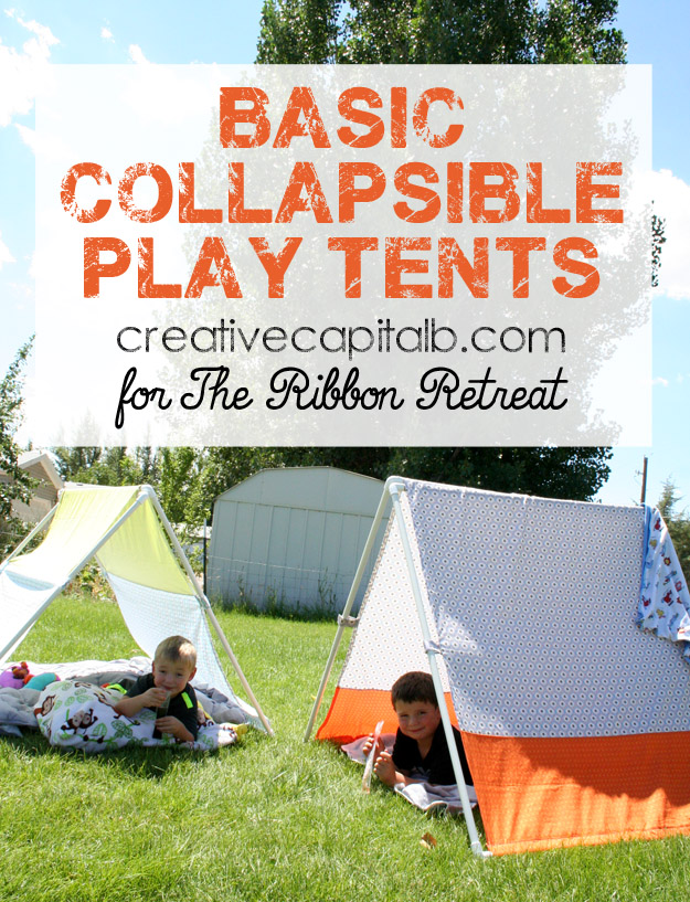 sc 1 st  The Ribbon Retreat & Basic Collapsible Play Tents - The Ribbon Retreat Blog