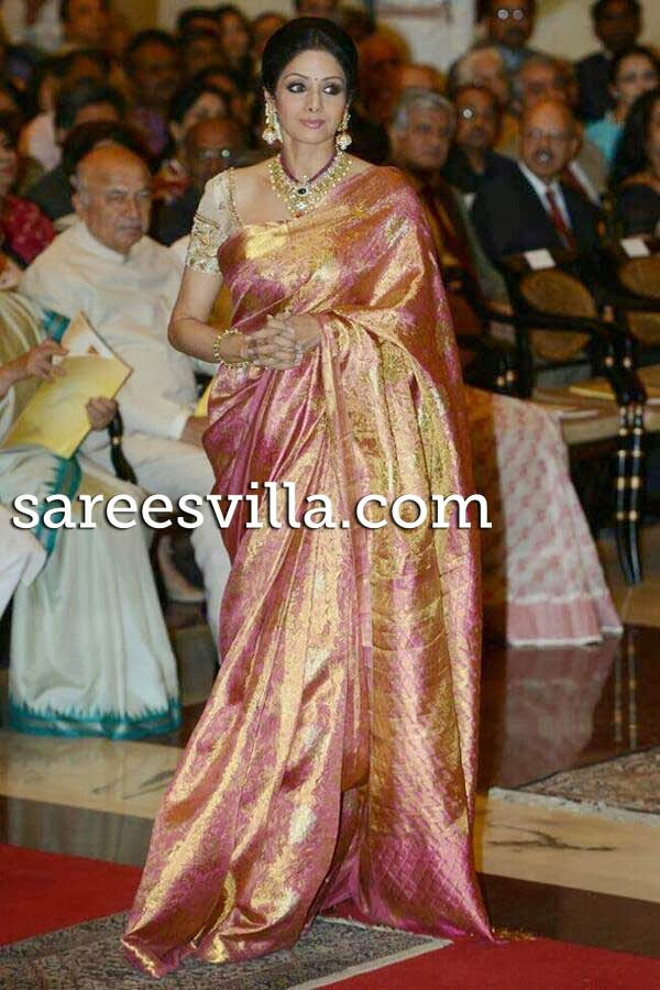 Sridevi Saree Collection | Sarees Villa Sabyasachi Anarkali Suits Collection 2013