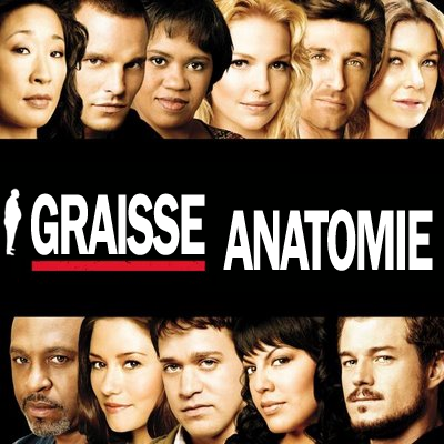 Grey's Anatomy (merci à Herr Magog)