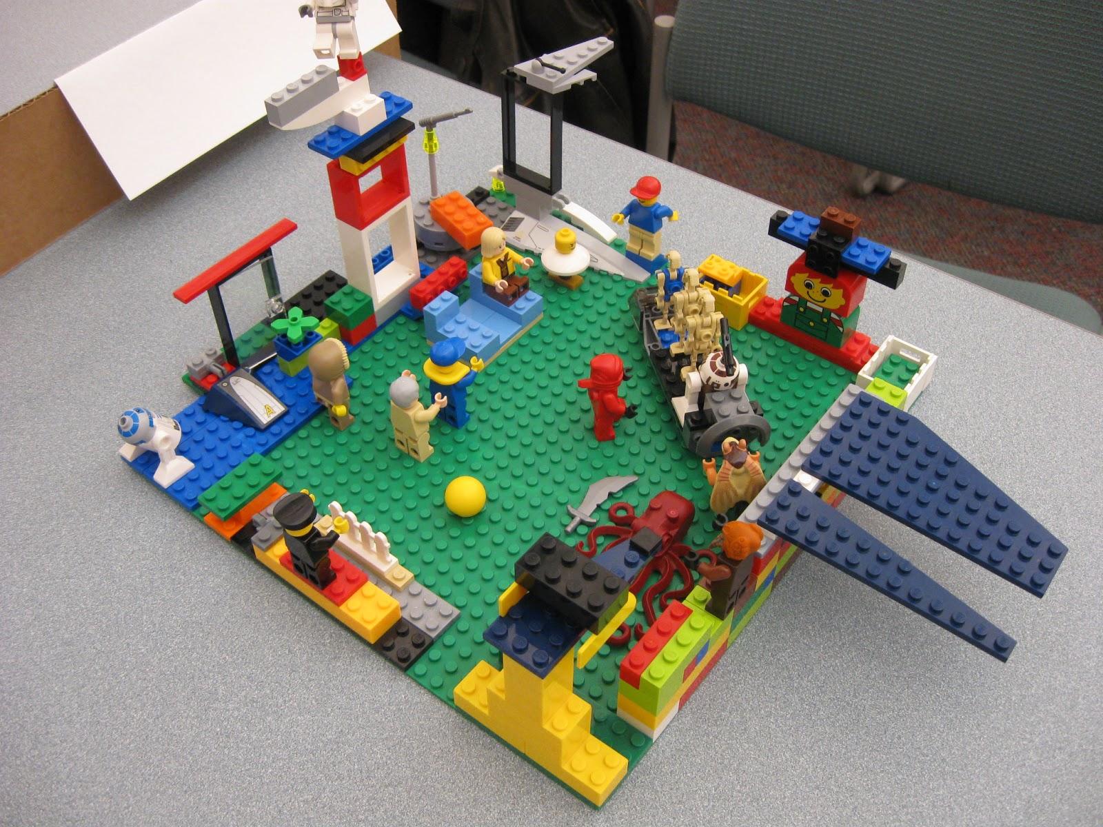 Ms Lou Lego Family Fun Day
