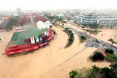 Flood In Pahang, Flood In Malaysia, Flood, Worst Flood