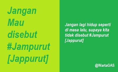 Istilah Kata #Jampurut [Jappurut]