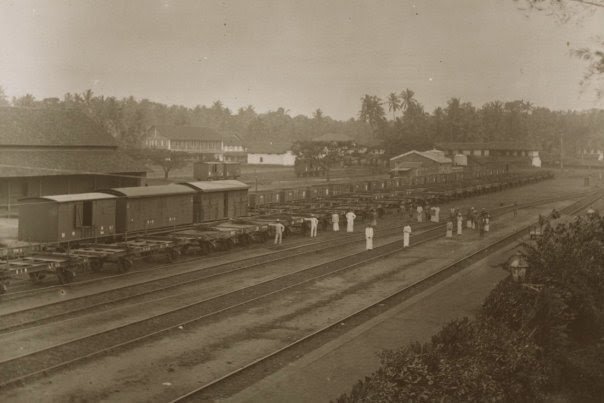Calicut Railway Station in 1901