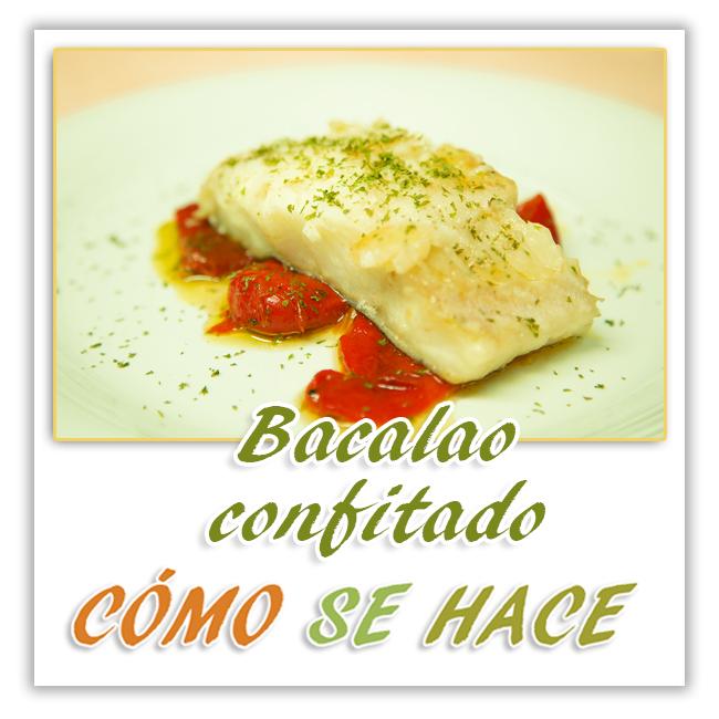 BACALAO CONFITADO
