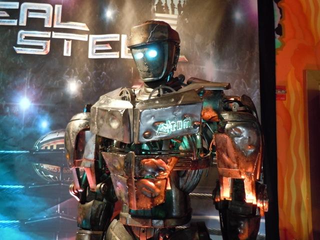Real Steel Atom robot prop