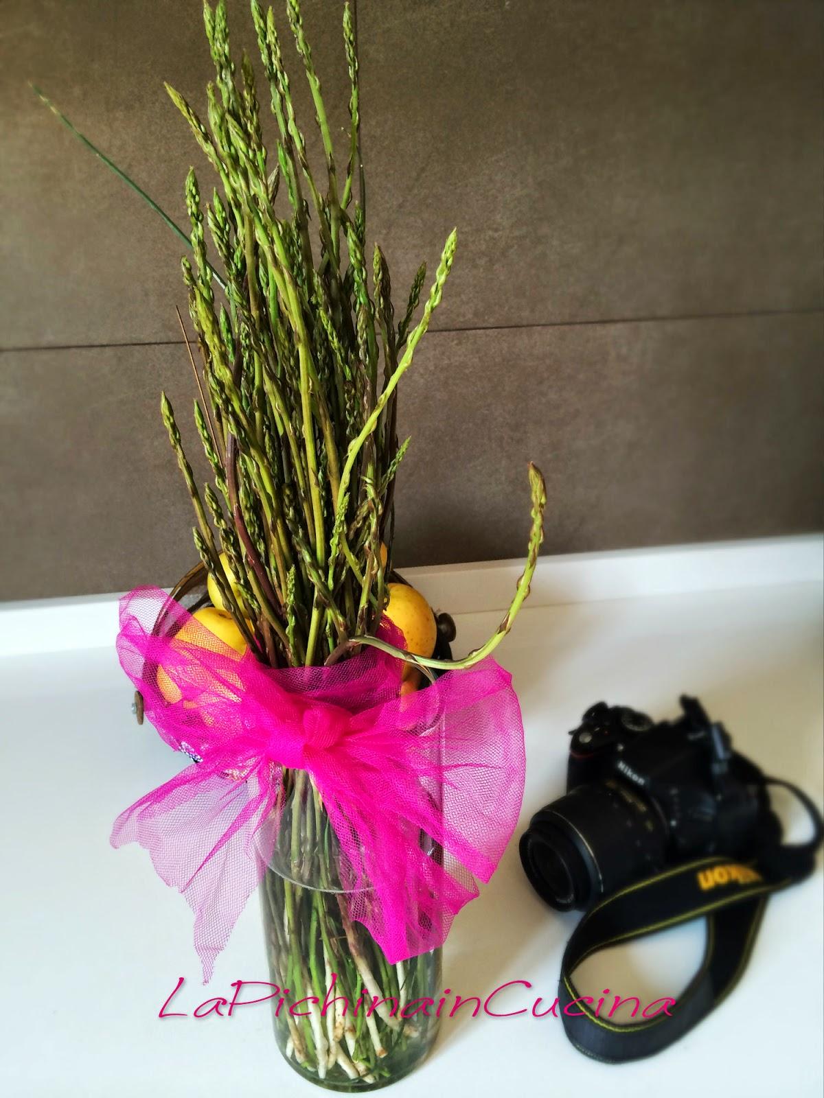 Lapichinaincucina un meraviglioso mazzo di fiori per la for Come costruire un mazzo di 2 piani