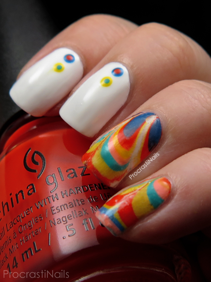 Nail Art // Water Marble Decal Nail Fail with the China Glaze Road ...