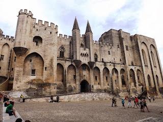 Palais des Papes, Avignon, Frankrig