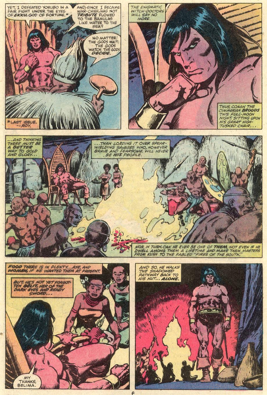 Conan the Barbarian (1970) Issue #102 #114 - English 5