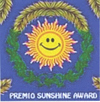 "Premio ""SUNSHINE AWARD"""