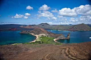 Bartolome Island and Pinnacle Rock, Galapagos Islands