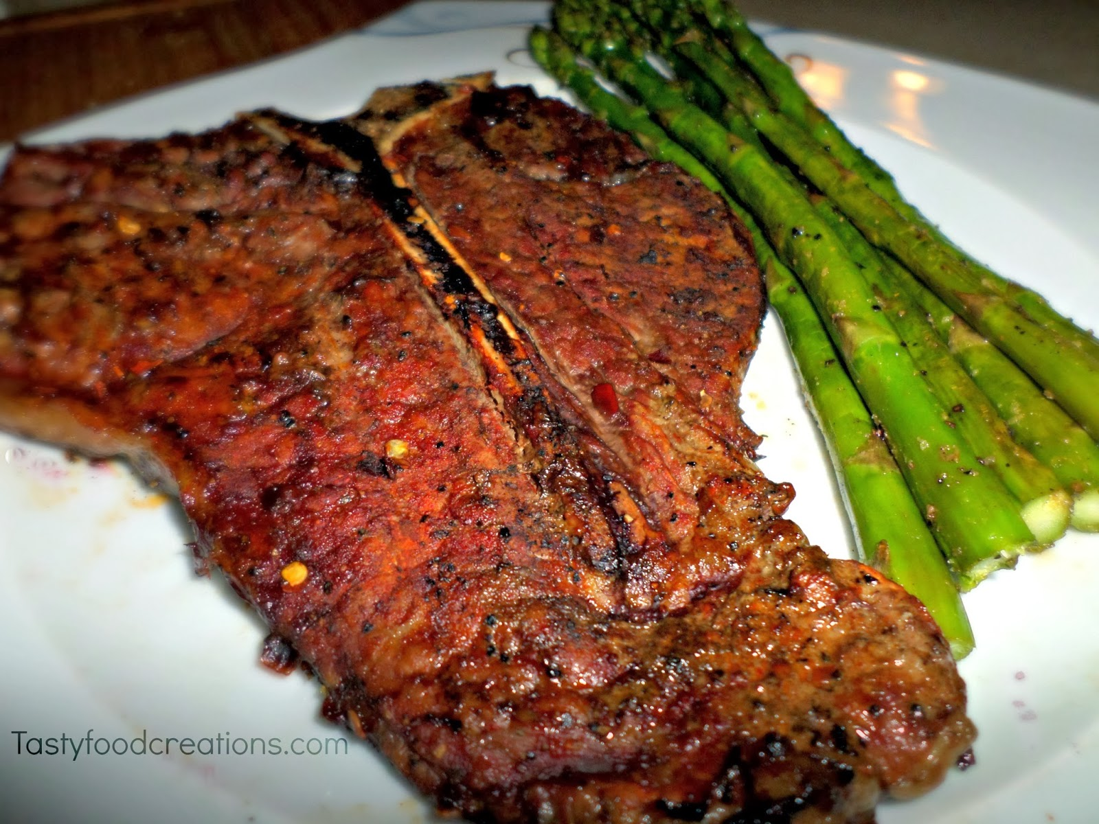 Grilled T-Bone Steak For Two Recipe — Dishmaps
