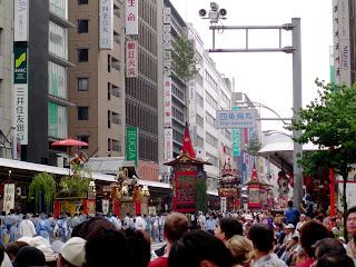 Fotografía del Gion Matsuri