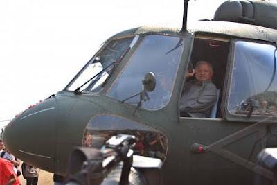 Penyerahan Enam Unit Helikopter Mi-17 V5 Hip Kepada TNI-AD