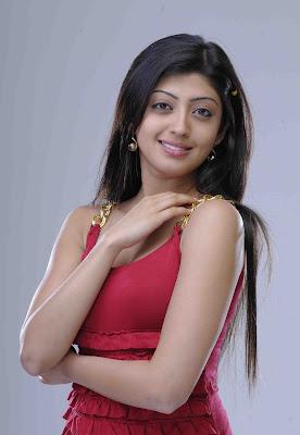Pranitha in red dress