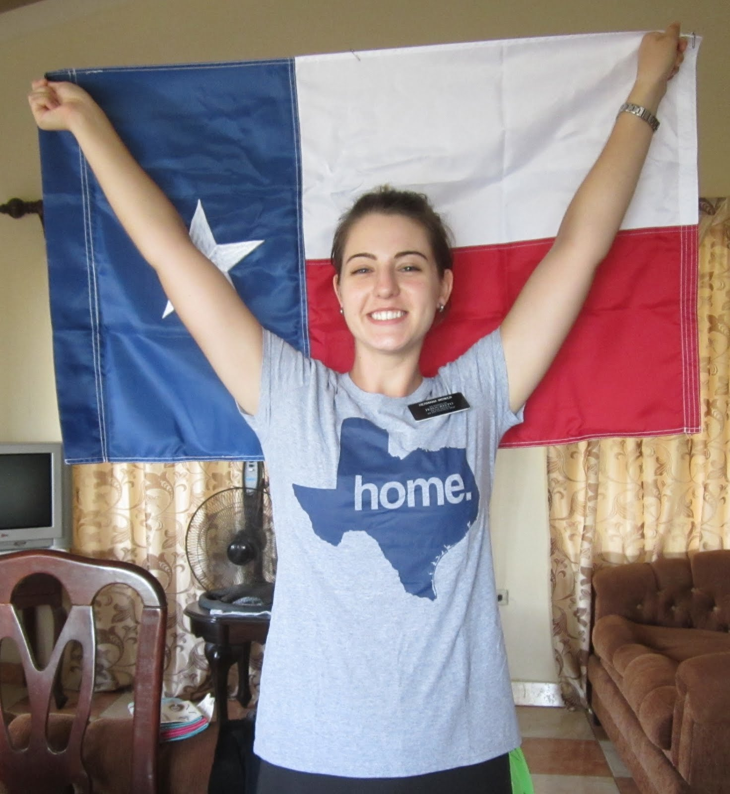 Love from HOME!  YAY TEXAS!