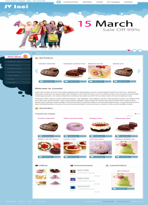 Share template JV Inci - Joomla 1.5