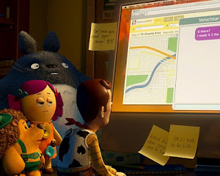 Totoro cameos in toy Story 3