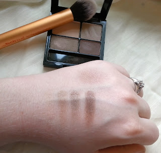 Real Techniques Contour Brush, Revlon Colorstay Addictive, Swatches