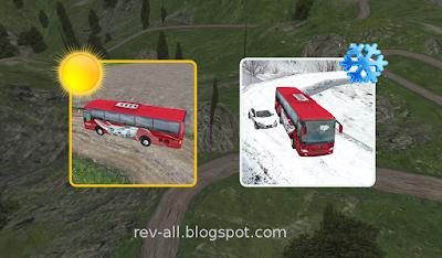 q3 memilih cuaca - Bus driver 2015 - game permainan android mengendarai bus