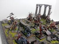 BANDEJA BANDA HOMBRES BESTIA DE MORDHEIM 6