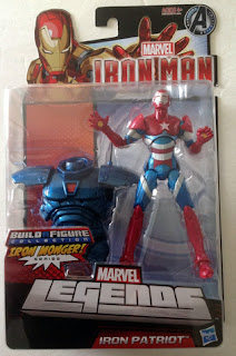 Hasbro Marvel Legends Iron Man - Iron Patriot in Package - front