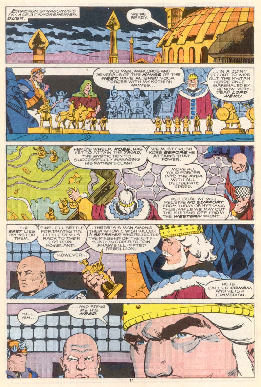 Conan the Barbarian (1970) Issue #208 #220 - English 9
