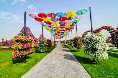 Taman Bunga Terluas Di Dunia