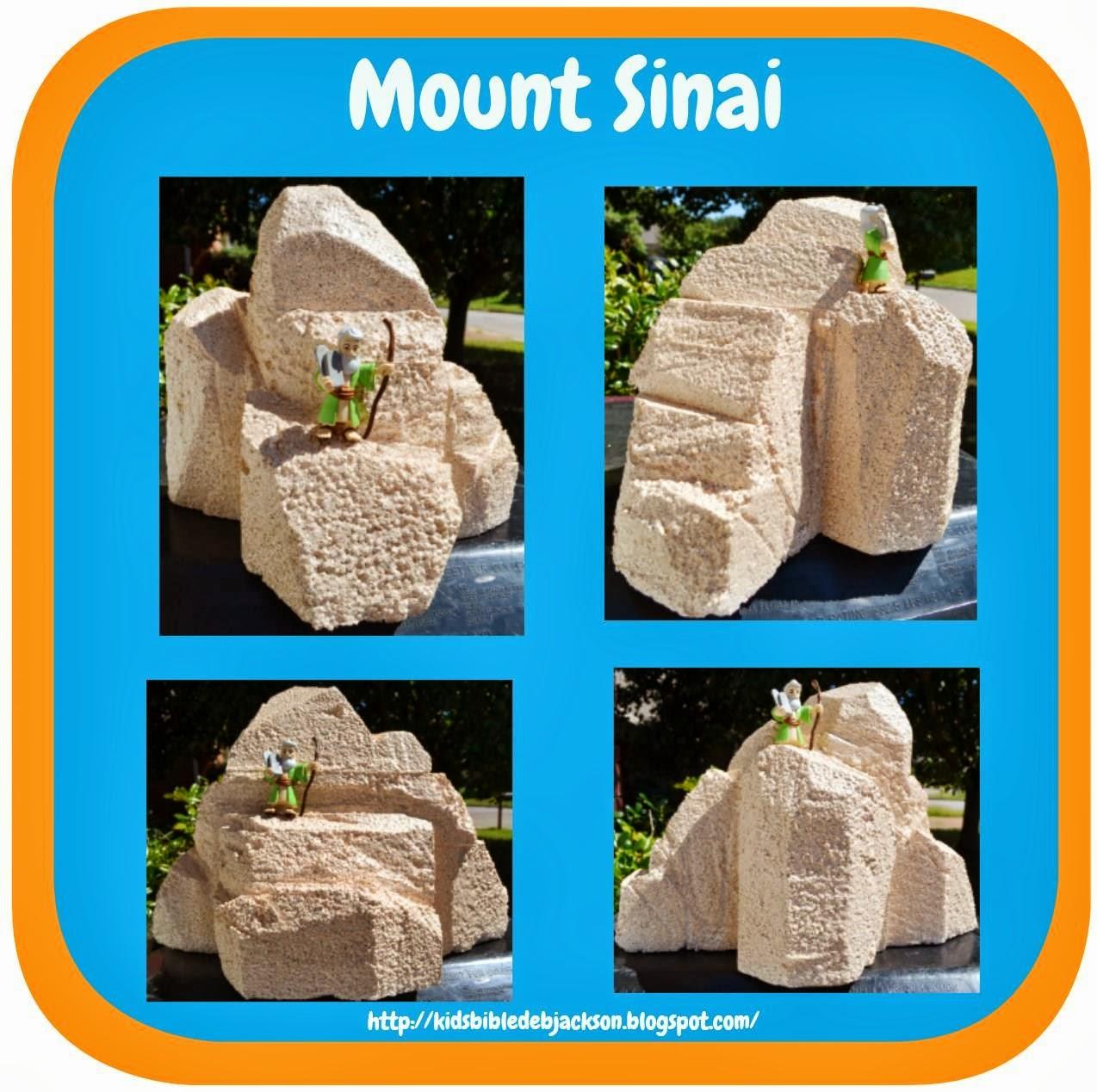 Make Your Own Mt. Sinai visual!