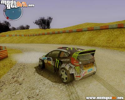 SA - Pista de Track Rally + Pack de Carros