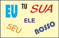 Atividades sobre pronome pessoal com gabarito