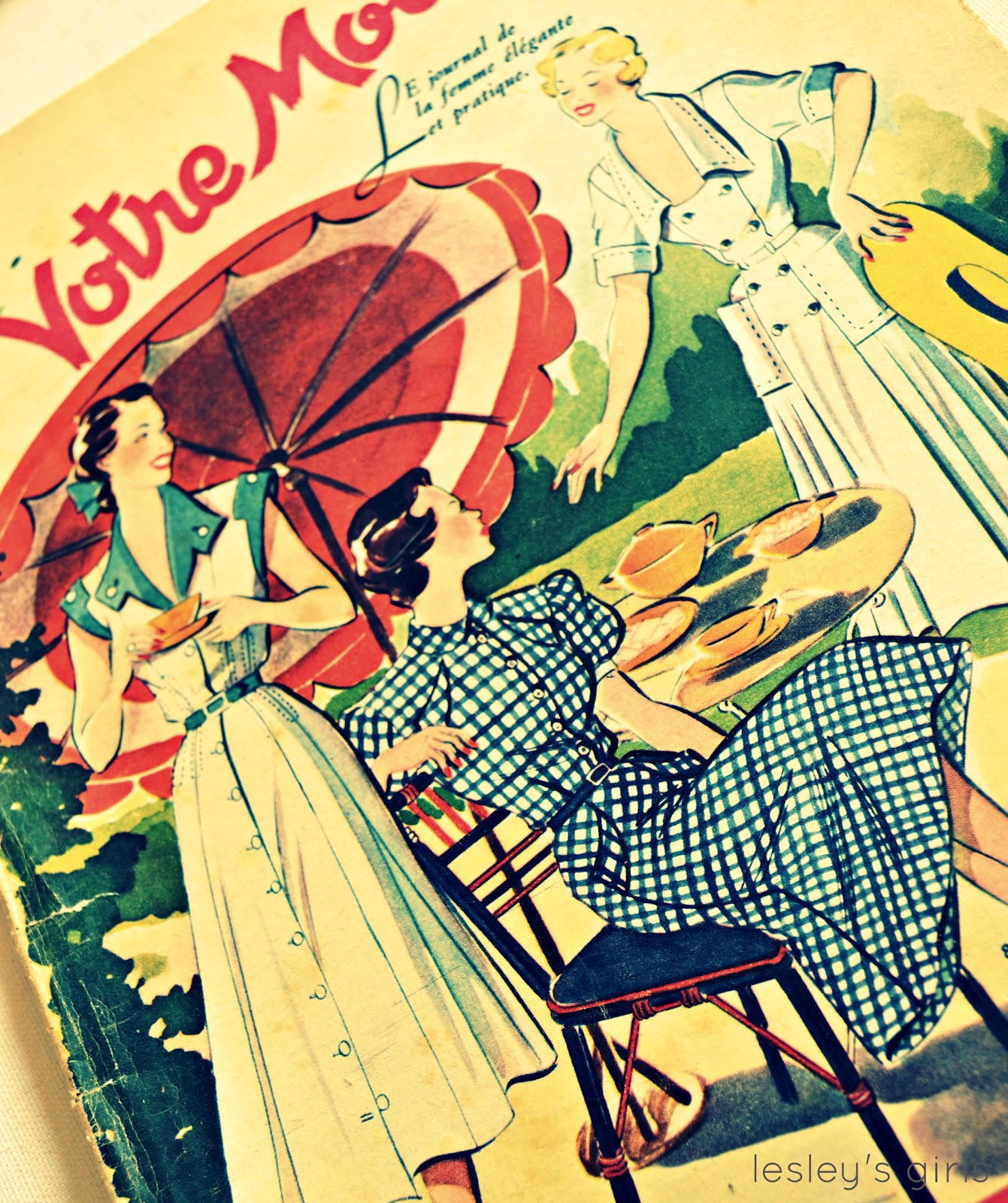 Lesley's Girls- Vintage Lifestyle and Fashion Blog: French ...