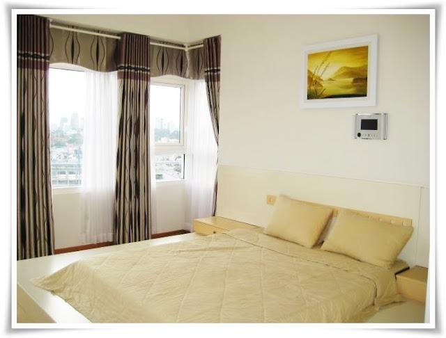 Phòng ngủ căn hộ Saigon Pearl