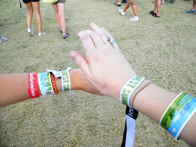 Beware! Music festival wrist bands has its health hazards