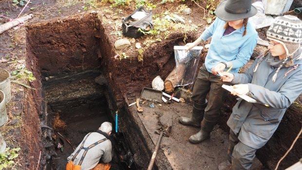 Découverte des restes du plus vieux village d'Amérique du Nord vieux de 14 000 ans