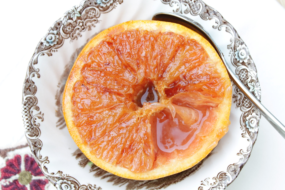 Broiled Grapefruit (aka the latest Pinterest recipe making the rounds)