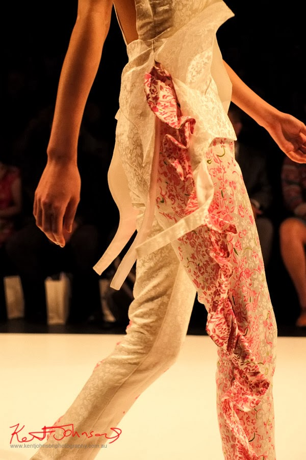 Stephanie Chau,  Detail - New Byzantium : Raffles Graduate Fashion Parade 2013 - Photography by Kent Johnson.