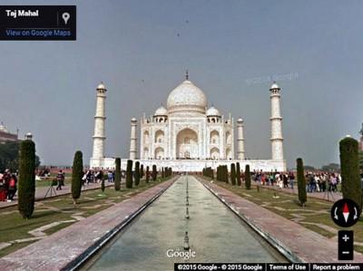 Taj Mahal Raih Posisi Utama Tujuan Wisata Asia di Google Street View