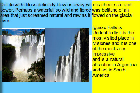 Argentina Facts About Water Falls!!! | Tyla