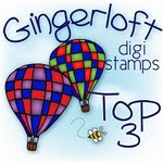 I made the top 3 at Gingerloft Challenge