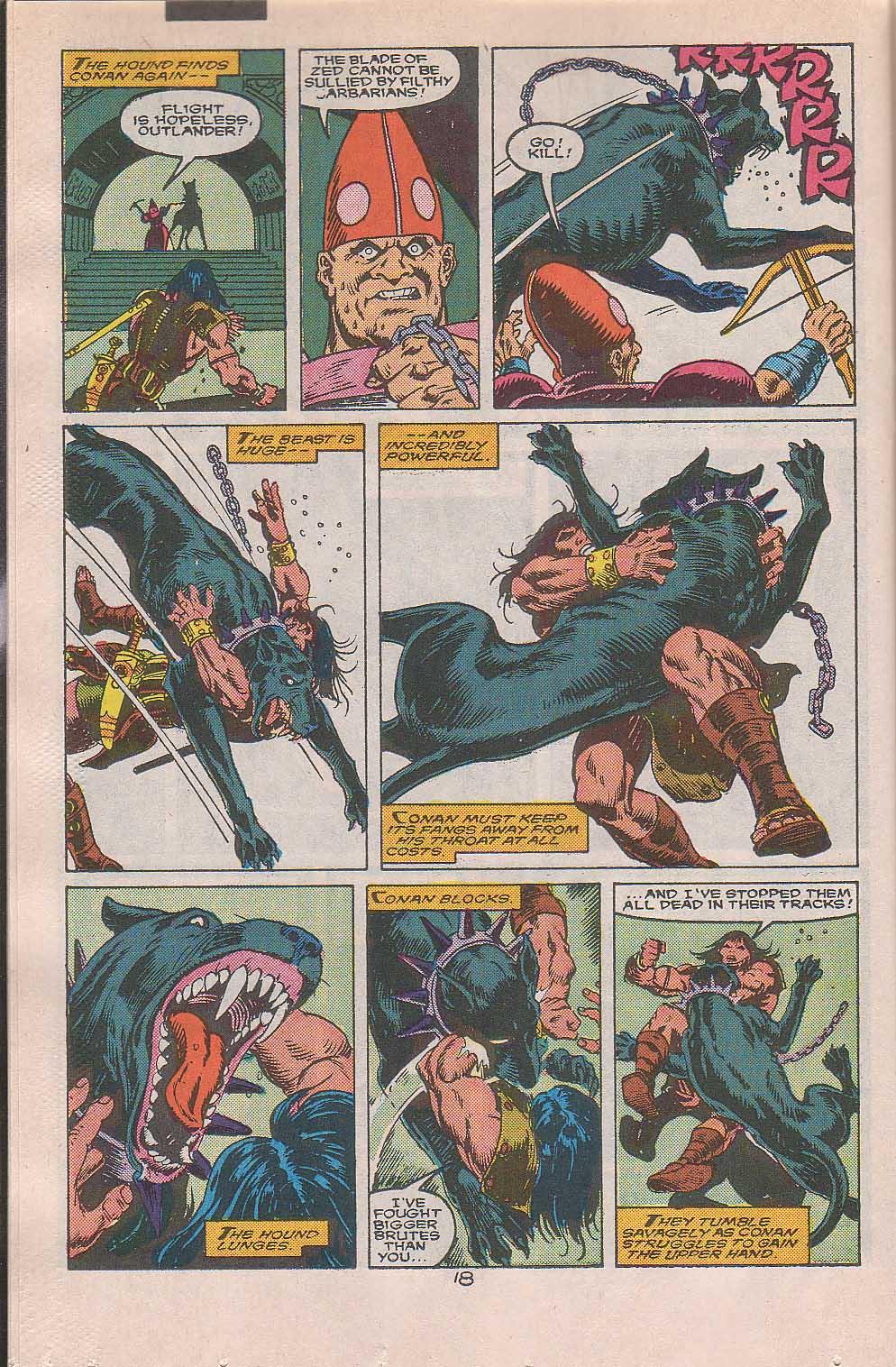 Conan the Barbarian (1970) Issue #216 #228 - English 15