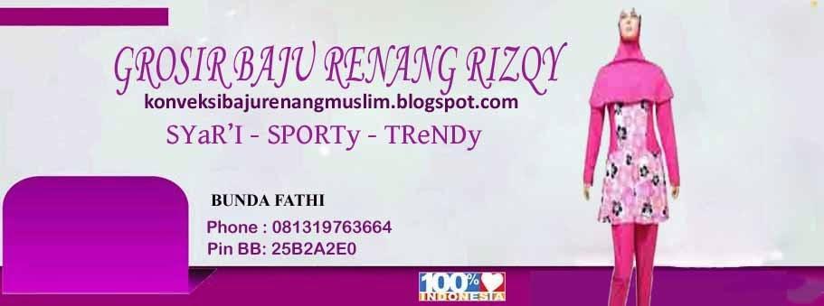 grosir baju  renang muslim