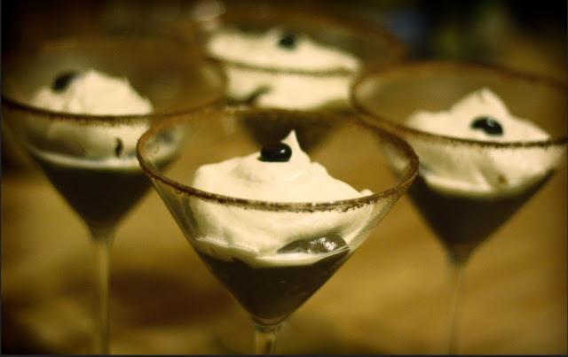 Verrine dessert au café, sans gluten, très fraîche